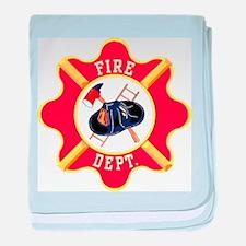 Fire Department baby blanket