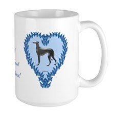 Greyhound Valentine Shop Mug