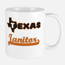 Texas Janitor Mugs