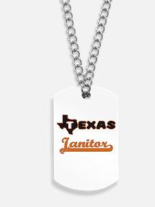 Texas Janitor Dog Tags