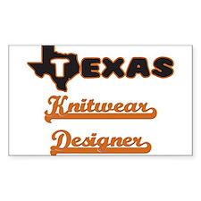 Texas Knitwear Designer Decal