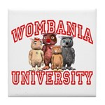 Wombania University Tile Coaster