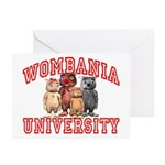 Wombania University Greeting Cards (Pk of 10)