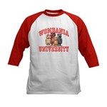 Wombania University Kids Baseball Jersey