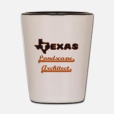 Texas Landscape Architect Shot Glass