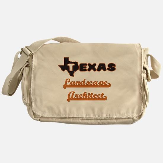 Texas Landscape Architect Messenger Bag