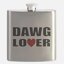 Bulldog lover Flask