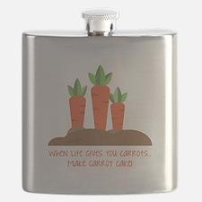 Carrot cake Flask