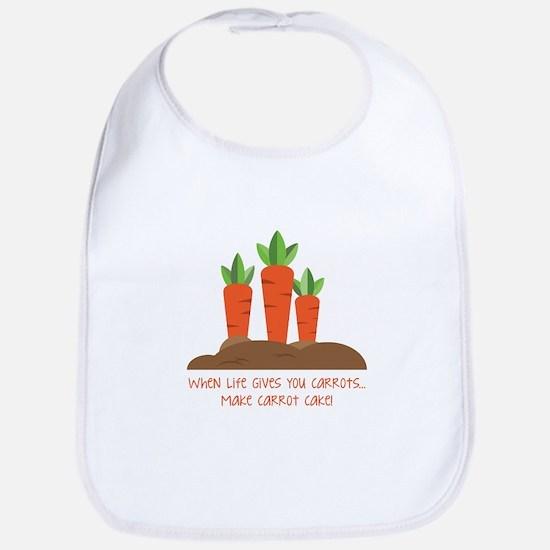 Carrot cake Bib
