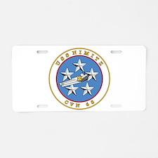 Uss Nimitz Cvn-68 Aluminum License Plate