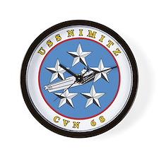 Uss Nimitz Cvn-68 Wall Clock