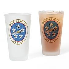 Uss Nimitz Cvn-68 Drinking Glass