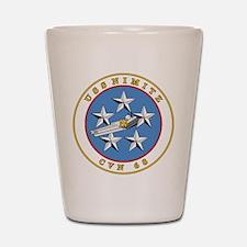 Uss Nimitz Cvn-68 Shot Glass