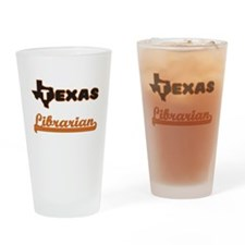 Texas Librarian Drinking Glass