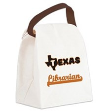 Texas Librarian Canvas Lunch Bag
