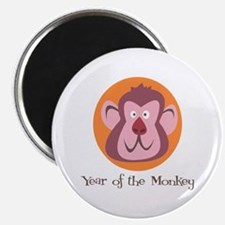 """Cartoon Year of the Monkey 2.25"""" Magnet (10 pack)"""