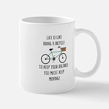 Riding Bicycle Mugs