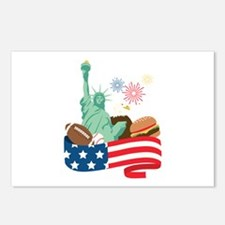 American Holiday Postcards (Package of 8)