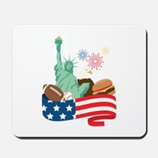 American Holiday Mousepad
