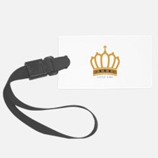 Little King Luggage Tag