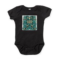 Mayan Artifact Baby Bodysuit