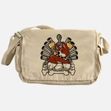 Iron Bone Throne Messenger Bag