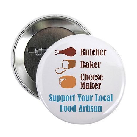 "Food Artisan 2.25"" Button (10 pack)"