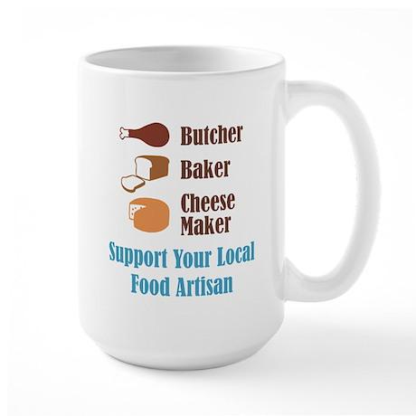 Food Artisan Large Mug