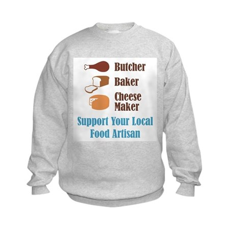Food Artisan Kids Sweatshirt