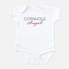 Cornhole Angel Infant Bodysuit