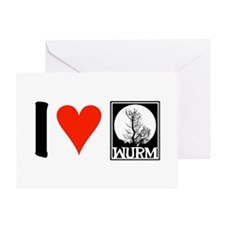 Wurm Greeting Card