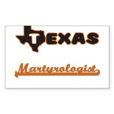 Texas Martyrologist Decal