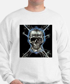 Electric Skull and Crossbones Sweater