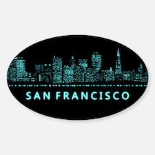 Digital Cityscape: San Francisco, C Decal