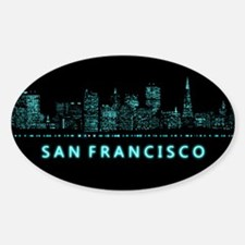 Digital San Francisco Decal