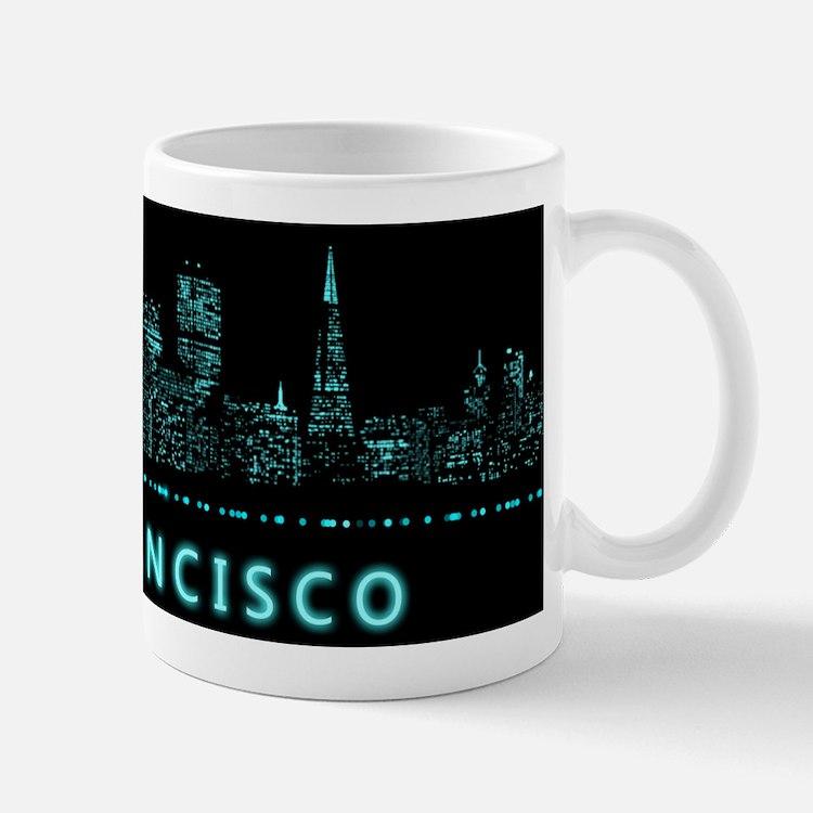 Digital San Francisco Mugs