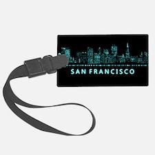 Digital Cityscape: San Francisco Luggage Tag