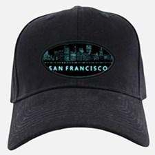 Digital Cityscape: San Francisco, Califo Baseball Hat
