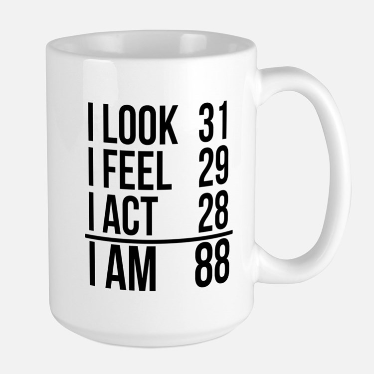I Am 88 Mugs