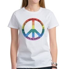 Queer Interfaith Peace (front) Tee