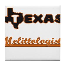 Texas Melittologist Tile Coaster