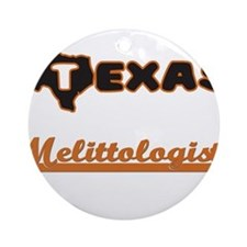 Texas Melittologist Ornament (Round)