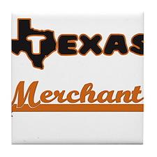Texas Merchant Tile Coaster