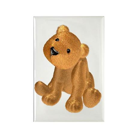 Brown Bear Rectangle Magnet (10 pack)