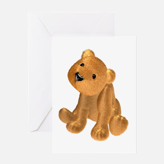 Brown Bear Greeting Card