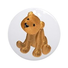 Brown Bear Ornament (Round)