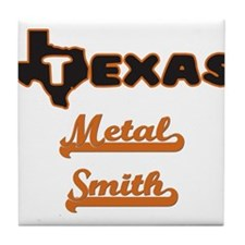 Texas Metal Smith Tile Coaster