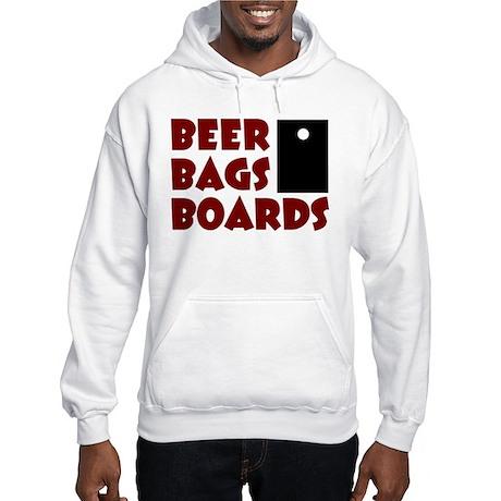 Beer Bags Boards Hooded Sweatshirt
