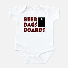 Beer Bags Boards Infant Bodysuit