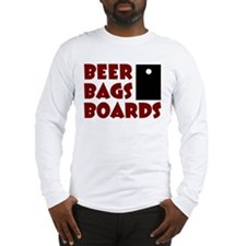 Beer Bags Boards Long Sleeve T-Shirt
